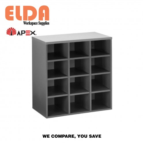 Apex YH 12 Pigeon Hole Cabinet